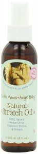 Earth Mama Angel Baby Natural Stretch Oil, 4-Ounce Bottle Deal