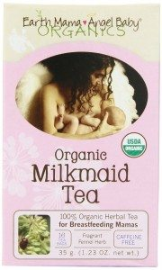 Earth Mama Angel Baby Organic Milkmaid Tea, 16 Teabags per Box (Pack of 3) Deal