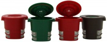 Ekobrew Cup, Refillable Filter for Keurig K-Cup Brewers, 4-Count Deal