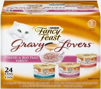 Fancy Feast Gravy Lovers Cat Food Variety Pack Deal