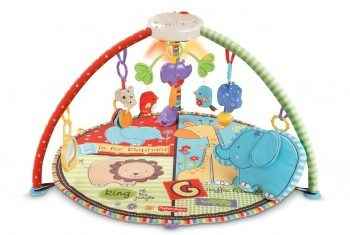 Fisher-Price Luv U Zoo Deluxe Musical Mobile Gym Deal