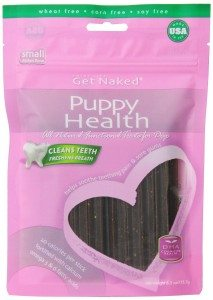 Get Naked Puppy Health Dental Chew Sticks for Puppies and Dogs Deal
