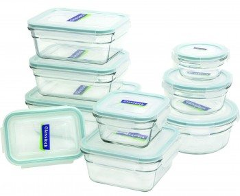 Glasslock 18-Piece Assorted Oven Safe Container Set Deal
