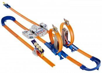 Hot Wheels Track Builder Total Turbo Takeover Track Set Deal
