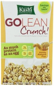 Kashi GOLEAN Crunch! Cereal, Honey Almond Flax, 14-Ounce Boxes Deal