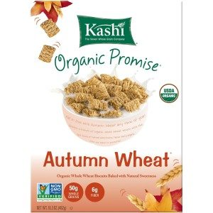 Kashi Organic Promise Cereal, Autumn Wheat, 16.3-Ounce Boxes Deal