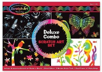 Melissa & Doug Deluxe Combo Scratch Art Set Deal