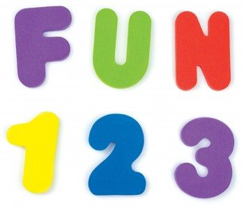 Munchkin 36 Bath Letters and Numbers Deal
