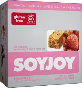 SOYJOY Snack Bars, Strawberry, 1.05 ounces, 24 count Deal
