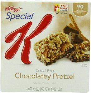 Special K Bars, Chocolatey Pretzel, 6-Count Bars Net Wt 4.6 Oz Deal