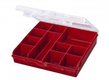 Stack-On SBR-13 13 Compartment Storage Organizer Box with Removable Dividers Deal