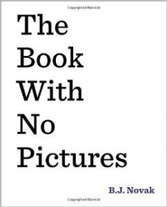 The Book with No Pictures Deal