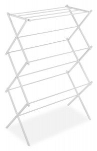 Whitmor 6023-741 Folding Clothes Drying Rack, White Deal