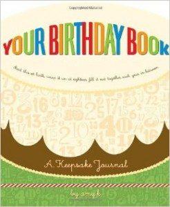 Your Birthday Book A Keepsake Journal Deal