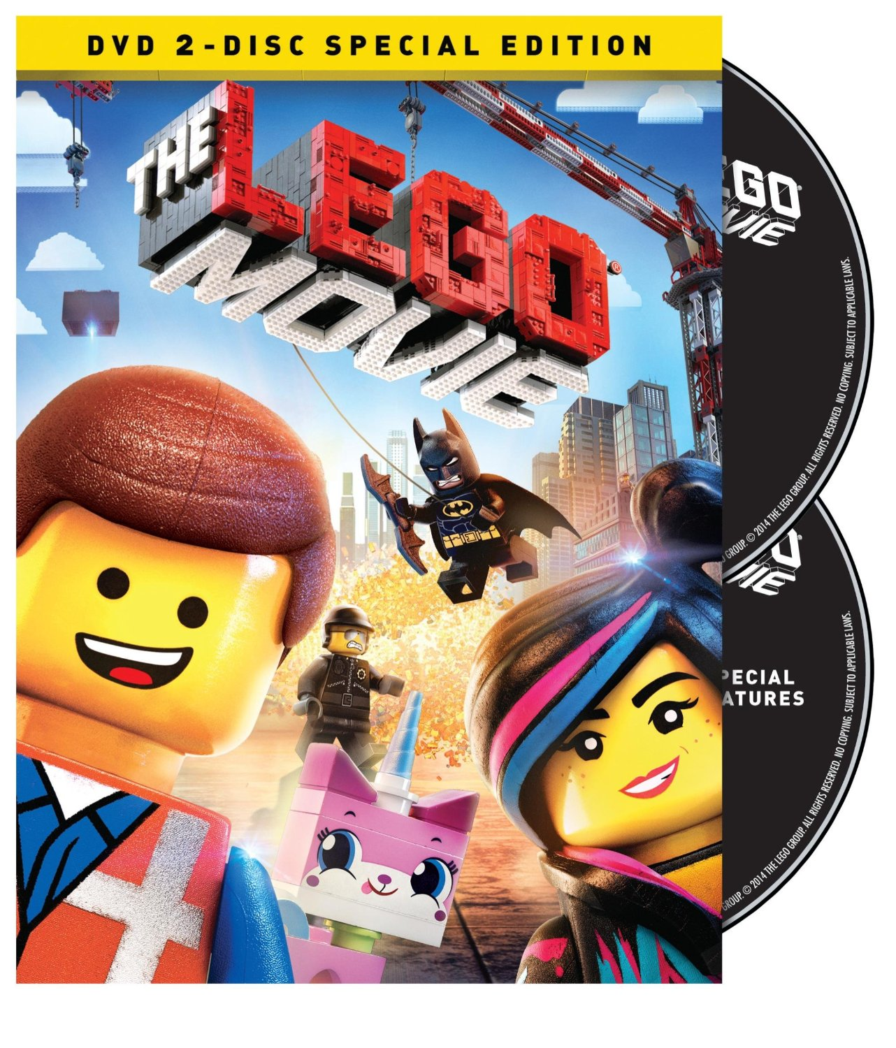 The LEGO Movie (DVD + UltraViolet Combo Pack)