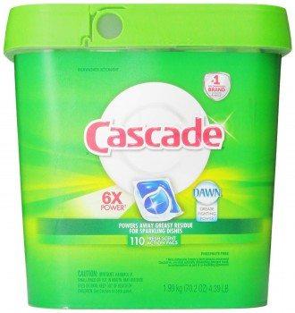 Cascade Actionpacs Dishwasher Detergent, Fresh Scent, 110 Count Deal