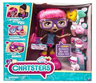 Chatsters - Gabby Interactive Doll Deal