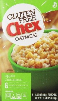 Chex Gluten Free Oatmeal, Apple Cinnamon, 9.54 Ounce (Pack of 2) Deal