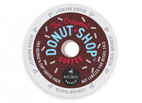 Coffee People Donut Shop Coffee, Regular Medium Roast, K-Cup Portion Count for Keurig Brewers 96-Count Deal