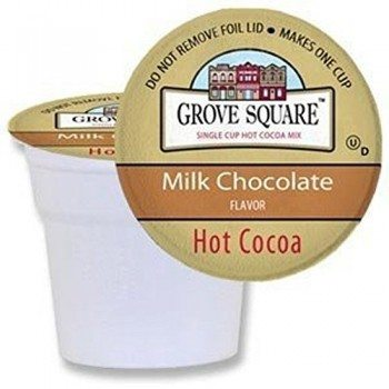 Grove Square Hot Cocoa, Milk Chocolate, 50 Count Single Serve Cups Deal