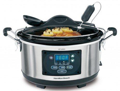 Hamilton Beach 33967A Set 'n Forget Programmable Slow Cooker, 6-Quart Deal
