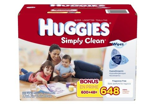 Huggies Simply Clean Baby Wipes Deal