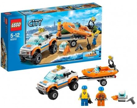 LEGO 4 x 4 Diving Boat Deal