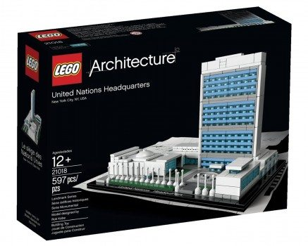 LEGO Architecture United Nations Headquarters Deal