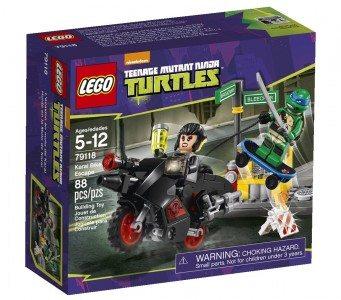 LEGO Ninja Turtles 79118 Karai Bike Escape Building Set Deal