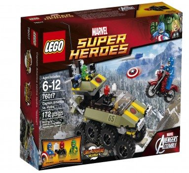 LEGO Superheroes 76017 Captain America vs. Hydra Deal