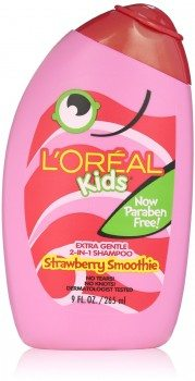 L'Oreal Kids Strawberry Smoothie 2-in-1 Shampoo for Extra Softness, 9 fl. Oz. Deal