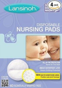 Lansinoh 20265 Disposable Nursing Pads, 60-Count Boxes (Pack of 4) Deal