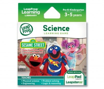 LeapFrog Explorer Sesame Street Solve it with Elmo, Abby and Super Grover 2.0 Learning Game Deal