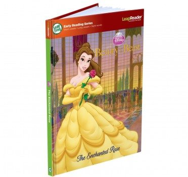 LeapFrog LeapReader Book Disney Beauty and the Beast The Enchanted Rose (works with Tag) Deal