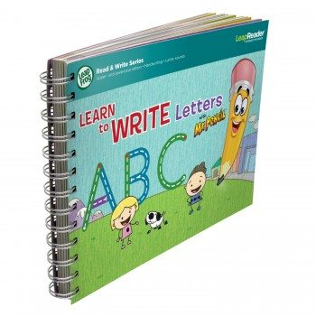 LeapFrog LeapReader Deluxe Writing Workbook Learn to Write Letters with Mr. Pencil Deal