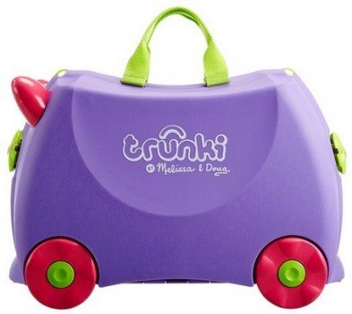Melissa & Doug Trunki Iris Rolling Kids Luggage Deal