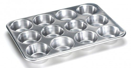 Nordic Ware Natural Aluminum Commercial Muffin Pan, 12 Cup Deal