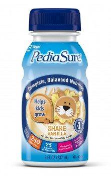 PediaSure Nutrition Drink, Vanilla, 8-Ounce Bottles (Pack of 24) Deal