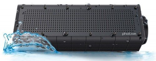 Photive HYDRA Rugged Water Resistant Wireless Bluetooth Speaker. Shockproof and Waterproof Wireless Speaker with latest Bluetooth 4.0 Technology Deal