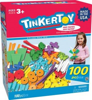 Tinkertoy 100 Piece Essentials Value Set Deal