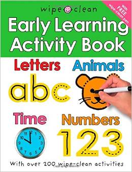 Wipe Clean Early Learning Activity Book Deal