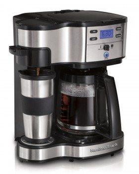 Hamilton Beach 49980A 2-Way Single Serve Brewer and Coffee Maker Deal