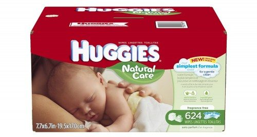 Huggies Natural Care Baby Wipes, Refill, 624 Count Deal