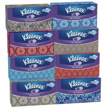 Kleenex Ultra Soft Tissues, White, 120ct Deal