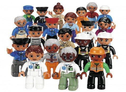 LEGO Education DUPLO Community People Set 4591516 (20 Pieces) Deal