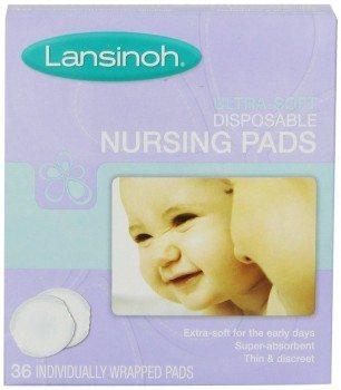 Lansinoh Ultra Soft Disposable Nursing Pads, 36 Count Deal