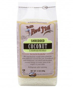 Bob's Red Mill Shredded Coconut Unsweetened, 12-Ounce Bags (Pack of 4) Deal
