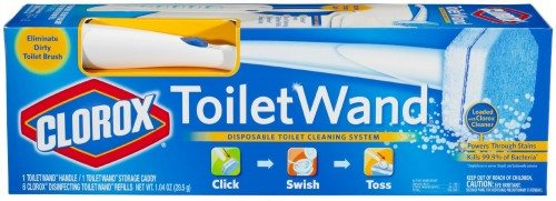 Clorox ToiletWand Disposable Toilet Cleaning System Deal