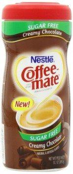 Coffee Mate Sugar Free Powdered Creamer, Chocolate, 10.2 - Ounce Deal