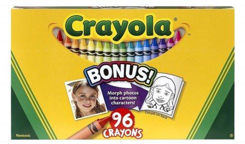 Crayola Classic Color Pack Crayons, Wax, 96 Colors per Box (52-0096) Deal